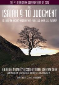 """""""The Isaiah 9:10 Judgment"""" is an unusual documentary, told through the eyes of messianic Rabbi Jonathan Cahn, author of the No. 1 bestselling Christian book of 2012, """"The Harbinger."""" It tells the remarkable story of striking parallels between the judgment of ancient Israel for turning its back on God and those judgments facing America today – specifically since Sept. 11, 2001."""