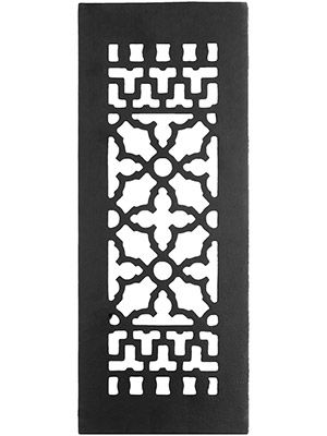 Victorian Style Cast Iron Floor Grate For Return Air