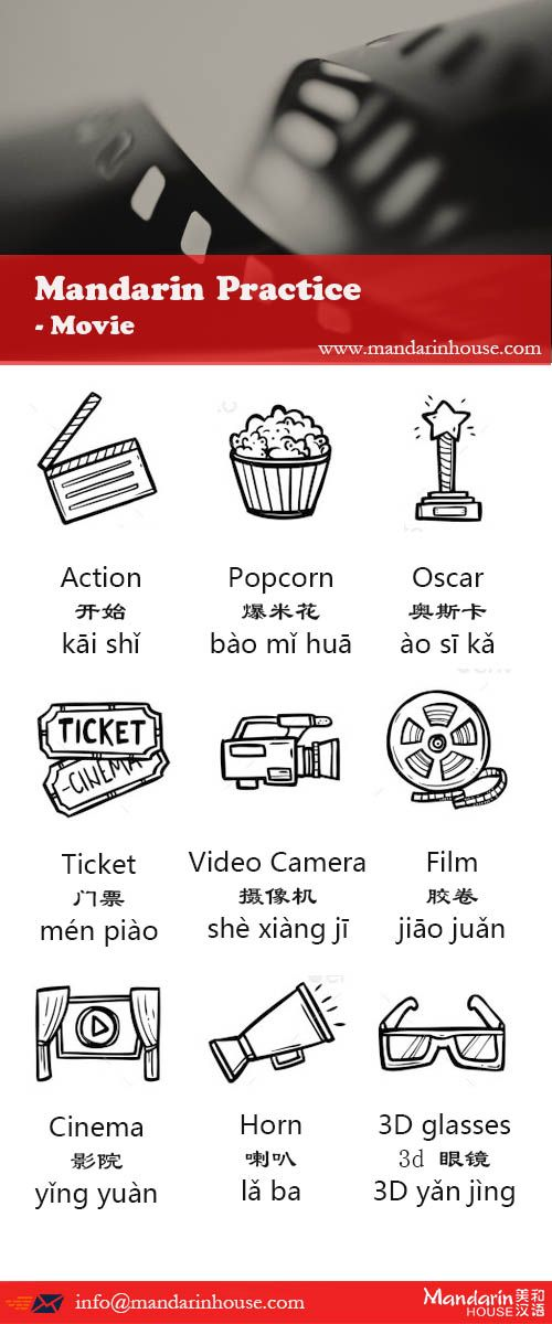 Learn Mandarin Chinese Through Movies: The Quick Guide