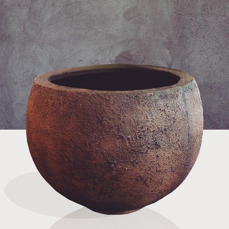 Whalers pot #texture #gfrc #concrete #pot #garden #gdrasia