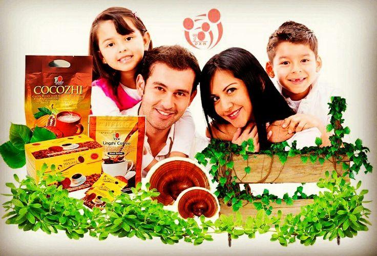 Le bevande DXN con estratto di Ganoderma,  sono adatti a tutta la famiglia. Scegli la tua preferita su tutti quelli disponibili su  www.orazio73.dxnitaly.com
