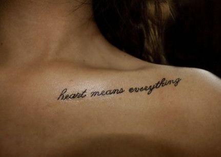 43+ Ideen für Zitate Tattoo aussagekräftigen Schlüsselbein   – quoted