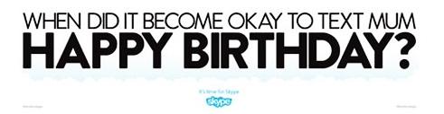 Skype ADV against Social Networks