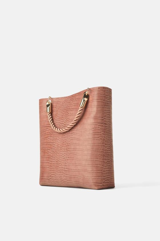 d43adc38b8 TOTE BAG WITH BRAIDED HANDLE - Collection-TIMELESS-WOMAN-CORNER SHOPS |  ZARA Hungary