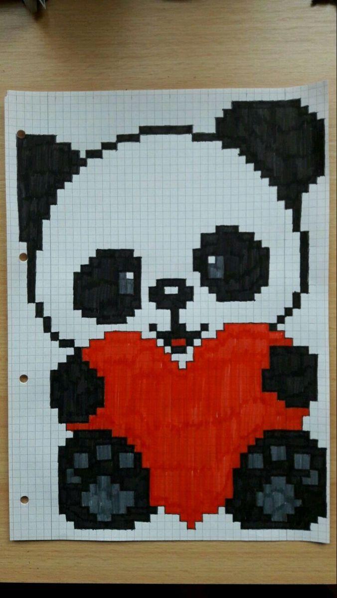 Pixelart Kastchen Ausmalen Ideen Und Motive 1