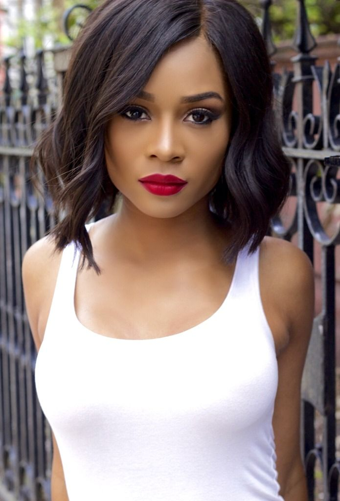 Zuri Hall | hair | Pinterest | Follow me, Bobs and Search