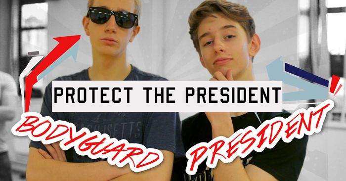 protect the president youth group game I think I'll be trying this one out this week at a lock-in!