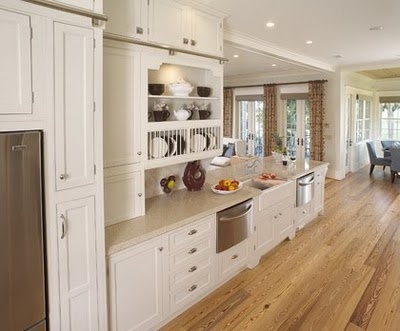 Kitchen Design By Kelly Crago Hansen Interiors, Inc. For Coastal And  Cottage Living. LaGrange Door Style In Maple Finished In Ivory