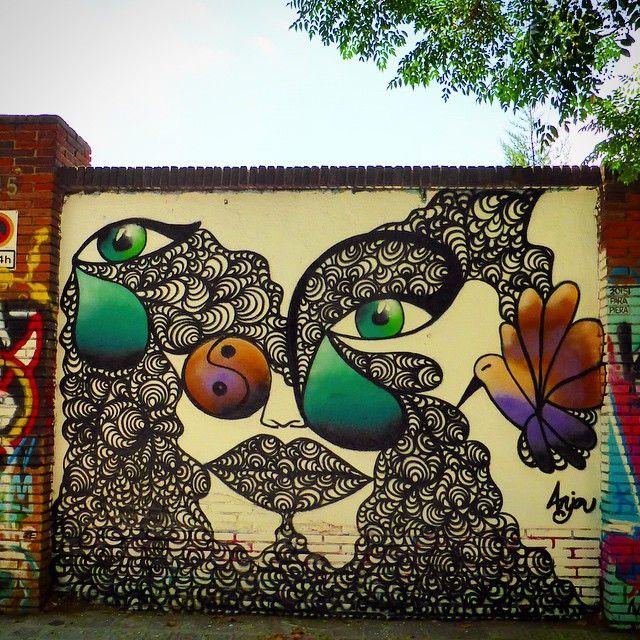 #streetart en Poblenou Barcelona Foto:#estorninos1 #streetartoficial…