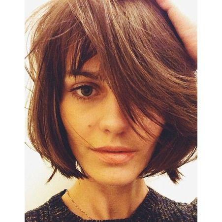 Les 25 Meilleures Id Es De La Cat Gorie Cheveux D Grad S Bruns Sur Pinterest Cheveux Longs