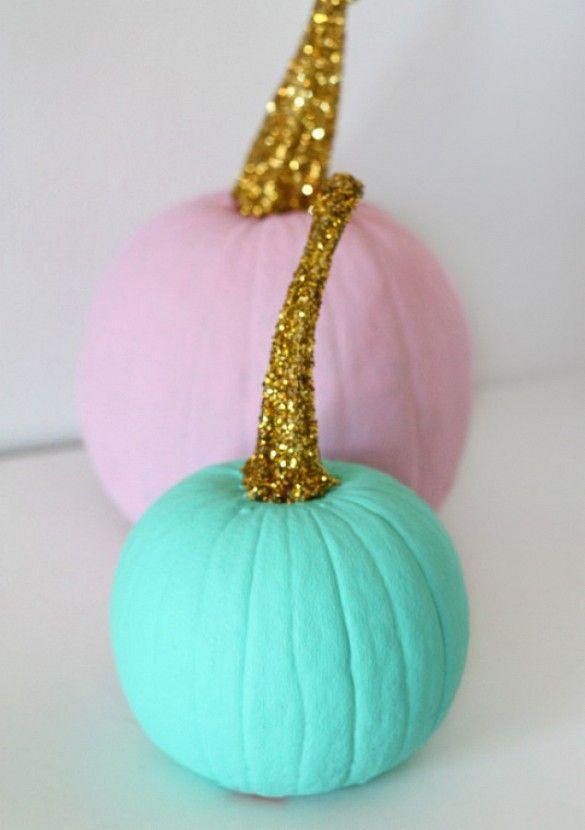 Glitter Stem Pumpkin