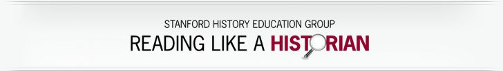 """Free secondary curriculum, """"Reading Like a Historian."""" Begins with questions (""""How should we think about the use of the atomic bomb?""""), uses primary documents."""