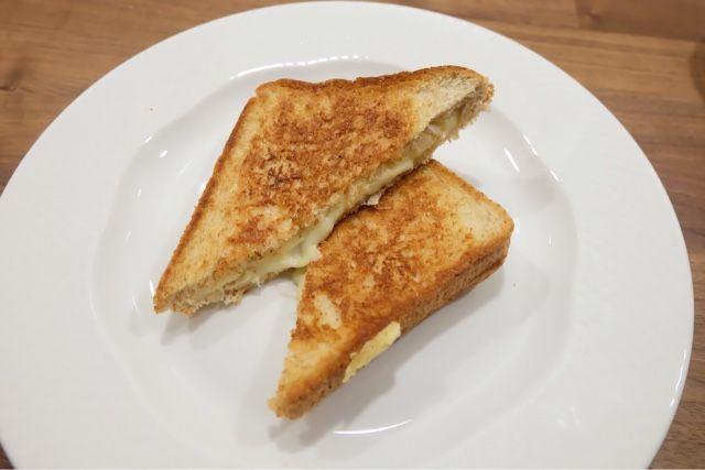 Grilled Cheese - Snack for the whole family. It's a cheese galore over here! www.lifeatarcilland.com