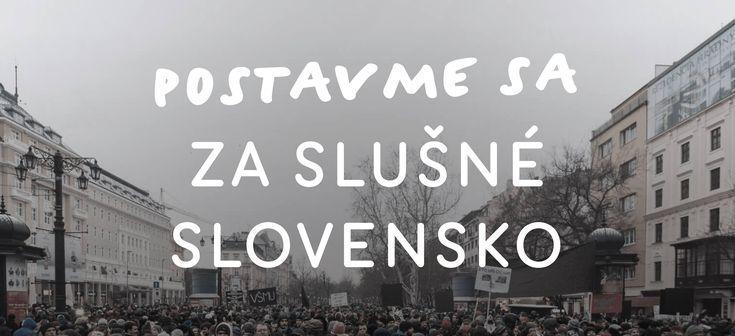 Protesty za slušné #Slovensko v piatok budú. Organizátori požadujú predčasné voľby #Bratislava #allforjan #predčasnévoľby #voľby http://my.slbeu.eu/163