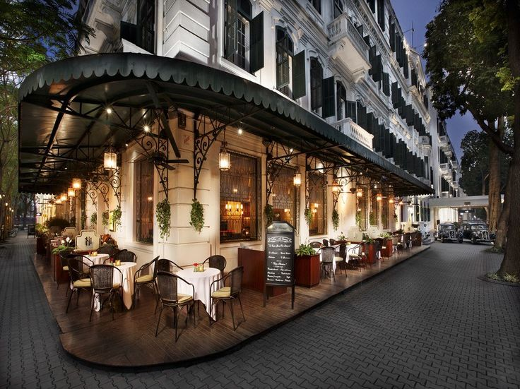 "Vietnam - Hanoi - Sofitel Legend Metropole Hanoi - ""It captures old-world colonial charm."" A fixture in the heart of Hanoi since…"