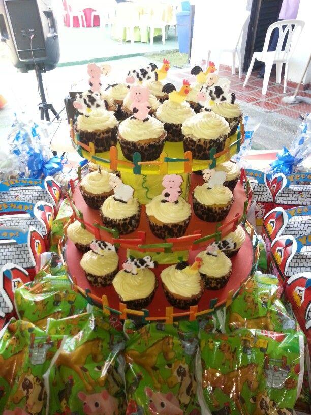 Cup cakes farm part