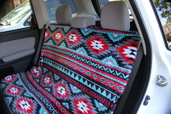 Aztec Car Seat Covers Back Seat Car Cover Tribal by ChicMonogram