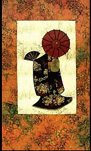 Japanese Lady: Applies Quilts, Quilting Ideas, Inspired Quilts, Oriental Quilts, Japanese Quilts, Story Quilts, Quilts Oriental, Japanese Quilt Patterns, Asian Quilts