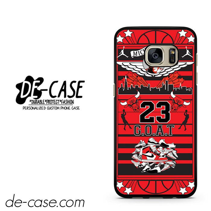 Michael Jordan Too Fly DEAL-7172 Samsung Phonecase Cover For Samsung Galaxy S7 / S7 Edge