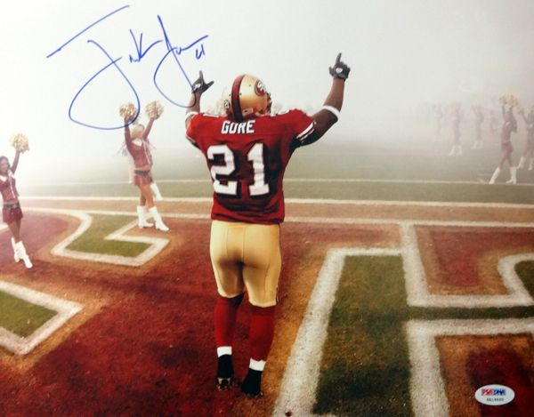 3de7ced75 Frank Gore Autographed San Francisco 49ers 11x14 Photo PSADNA Cool jersey  ...