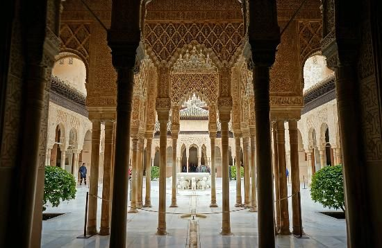 The Alhambra: The Court of the Lions
