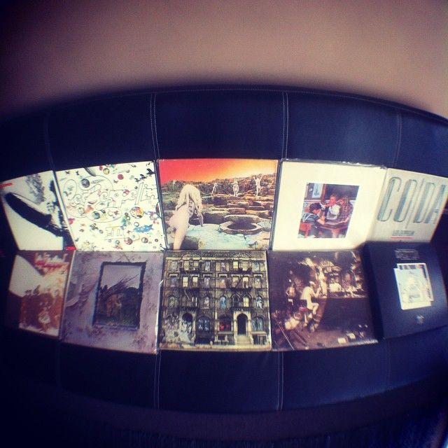 #ledzeppelin full collection #vinyl #vinyls #vinyljunkie #vinylcollector #discography #nowspinning #vinylcollection #recordcollection