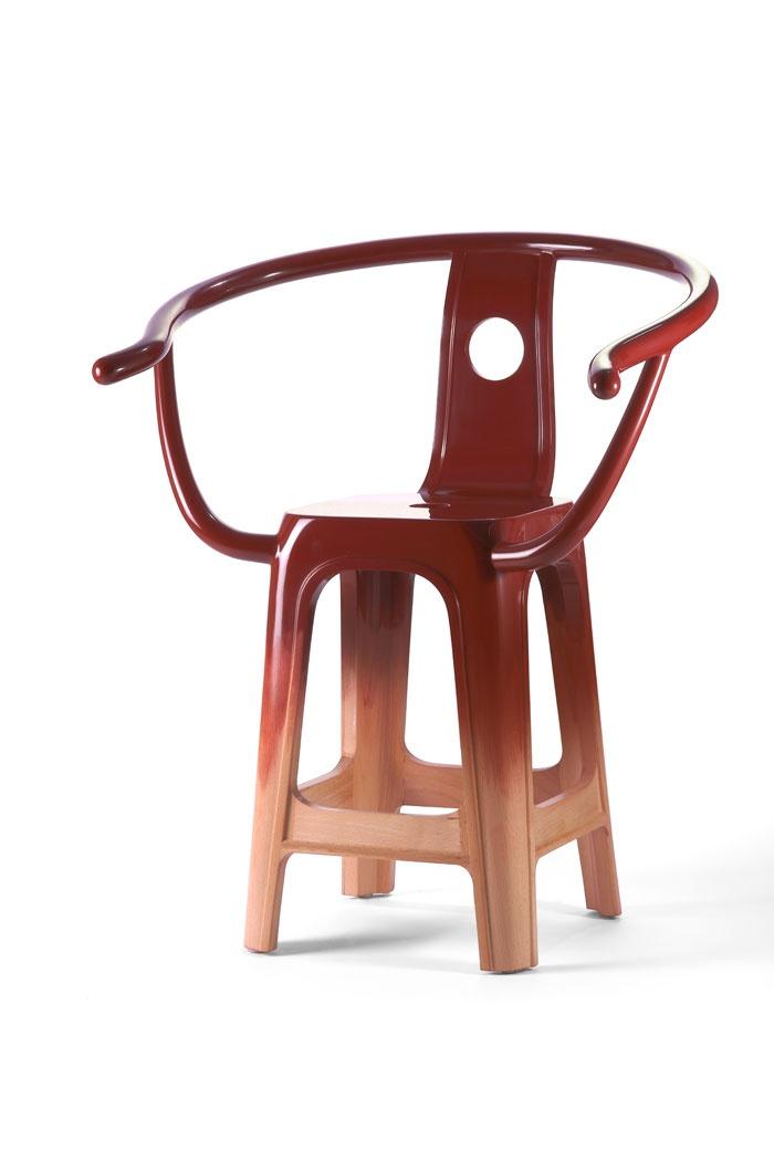 Ming chair. Design: Pili Wu, 2012