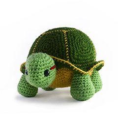 Zoomigurumi Orion the turtle crochet pattern