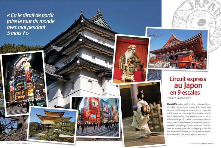 Circuit express au Japon en 9 escales