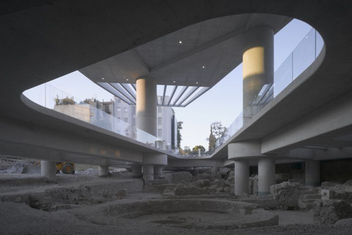 The New Acropolis Museum- Athens, Greece