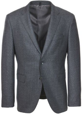 HUGO BOSS T-Noval Wool Cashmere Mid Grey Sport Coat - 40R