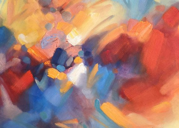 Abstract Painting Oil Painting Abstract Large by GeorgeMillerArt
