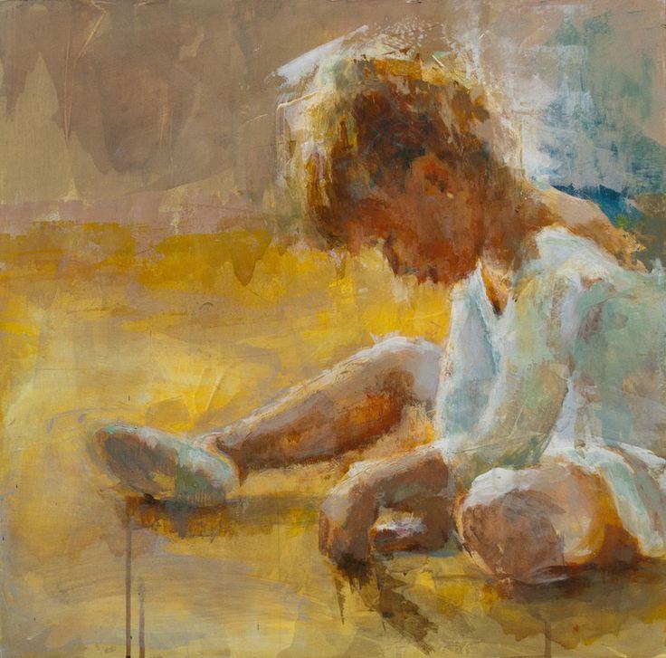 Saatchi online artist: Fernanda Cataldo; acrylic painting 'Bailarina'