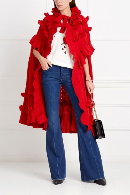 Хлопковая футболка Gucci - Оригинальная футболка из натурального тонкого хлопка в интернет-магазине модной дизайнерской и брендовой одежды