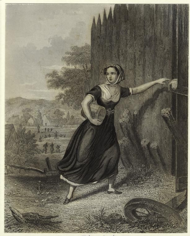 Elizabeth Burgin was an American patriot during the Revolutionary War. Burgin brought food to prisoners of war housed on British prison ships in New York Harbour. She was credited with helping over 200 of these prisoners to escape the ships in 1778. The British offered £200 (at the time equivalent to about 20 years' pay for a British soldier) for her capture. She was not apprehended, but most of her possessions were confiscated and sold.[1] She was later awarded a pension by the Continental…