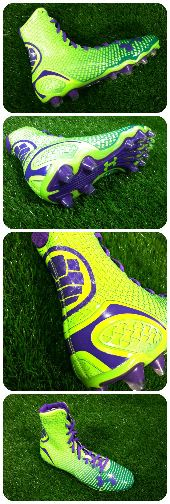 Suit up as your alter ego this season. Get the Hulk-inspired Under Armour Highlight Cleat now.