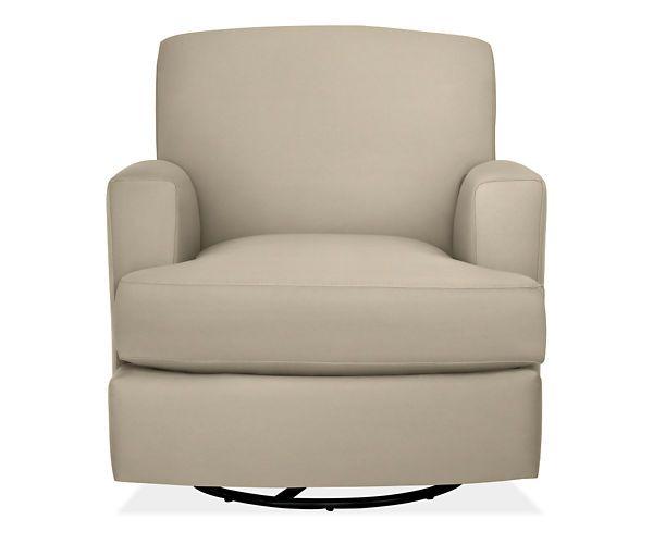 Carter Swivel Chair Glider Amp Ottoman Fabric Chairs