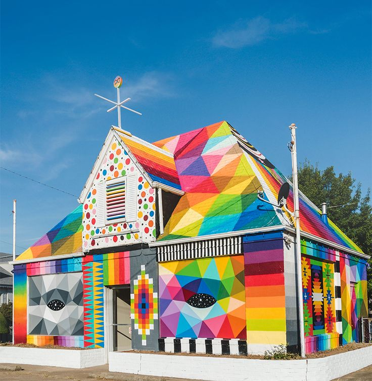 okuda san miguel turns an abandoned house in arkansas into a 'universal chapel'