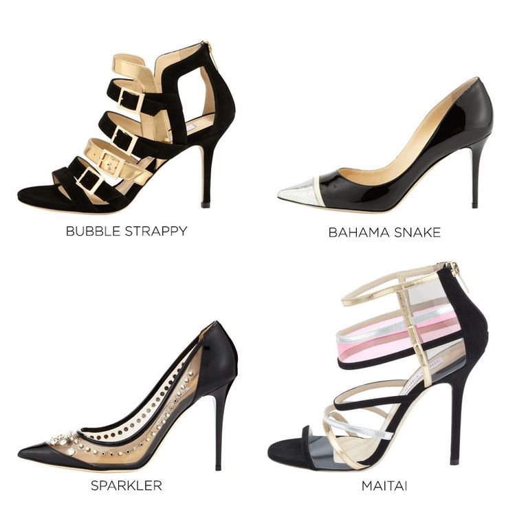 All of Jimmy Choo's Resort styles are named after a favorite resorting moment or place. Which makes total sense.