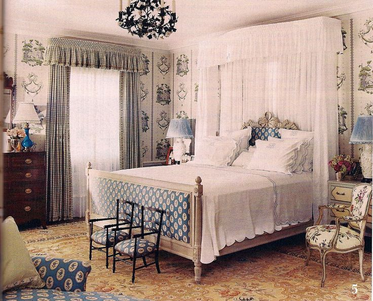Room By Sallie Giordano And Leta Austin Foster Curtains Canopy Paul S Maybaum Fabrics From Pierre Frey Le Menach Linens
