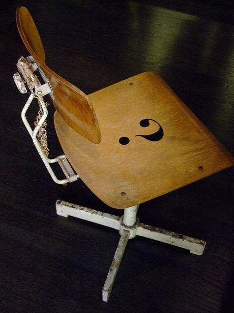 #FuoriSalone #Milano #2013 - The riddle chair by fuorisalonemilano, via Flickr