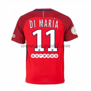 maillot de foot Ligue 1 Paris Saint Germain PSG 2016-17 Di Maria 11 maillot extérieur