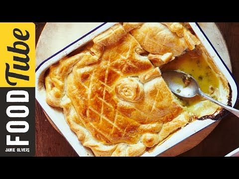 Jamie's Quick Chicken & Mushroom Pie - you just can't get enough