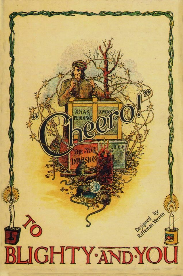 39th Division Christamas Card