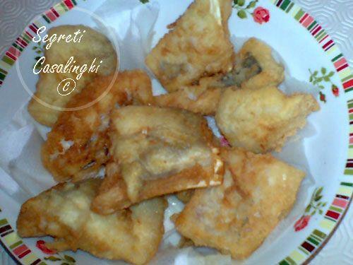 baccala fritto,ricetta del baccala' fritto,baccala' impanato e fritto,frittura di baccala',il baccala' fritto,ricette secondi piatti pesce,pesce fritto,