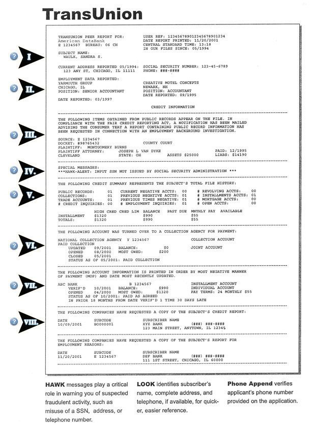Credit Report: Sample Equifax Credit Report Pdf - credit report template                                                                                                                                                     More