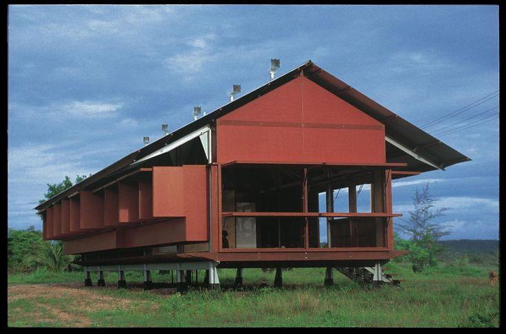 Glenn Murcutt - Marika-Alderton House -Eastern Arnhem Land, Australia - 1991-94