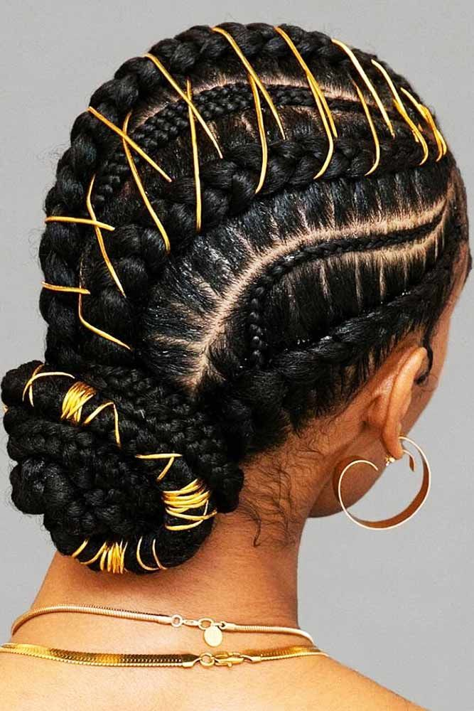 50 Cute Cornrow Braids Ideas To Tame Your Naughty Hair Natural Hair Styles Braided Hairstyles For Black Women Braided Hairstyles