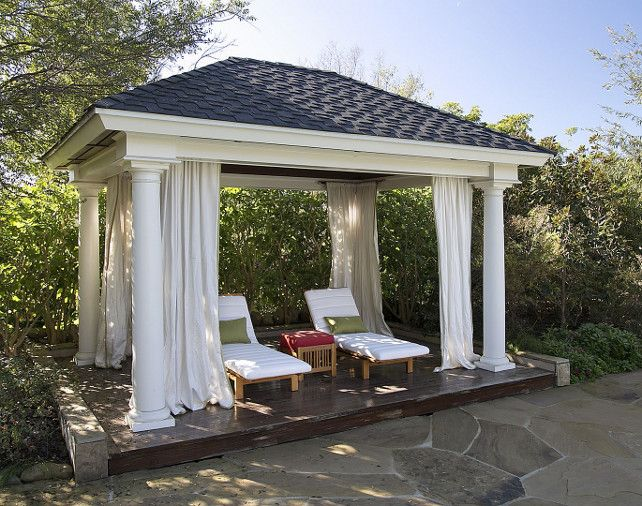 Cabana ideas for backyard house decor ideas for Garden cabana designs