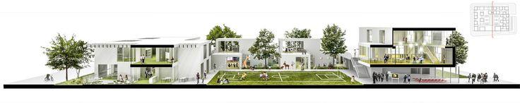 Galería de FP Arquitectura, cuarto lugar en concurso Ambientes de Aprendizaje del siglo XXI: Colegio Pradera El Volcán - 21